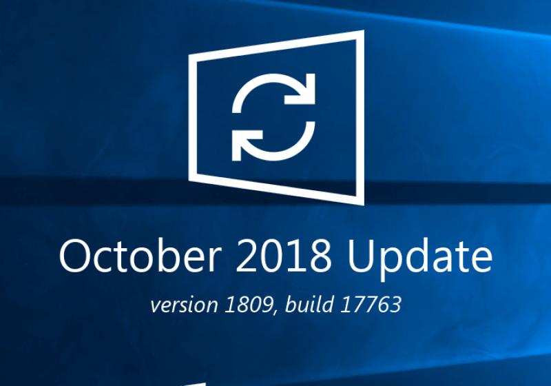 Windows 10 Update 1809