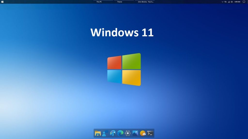 Latest windows version (windows 11)