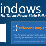 Driver Power state failure