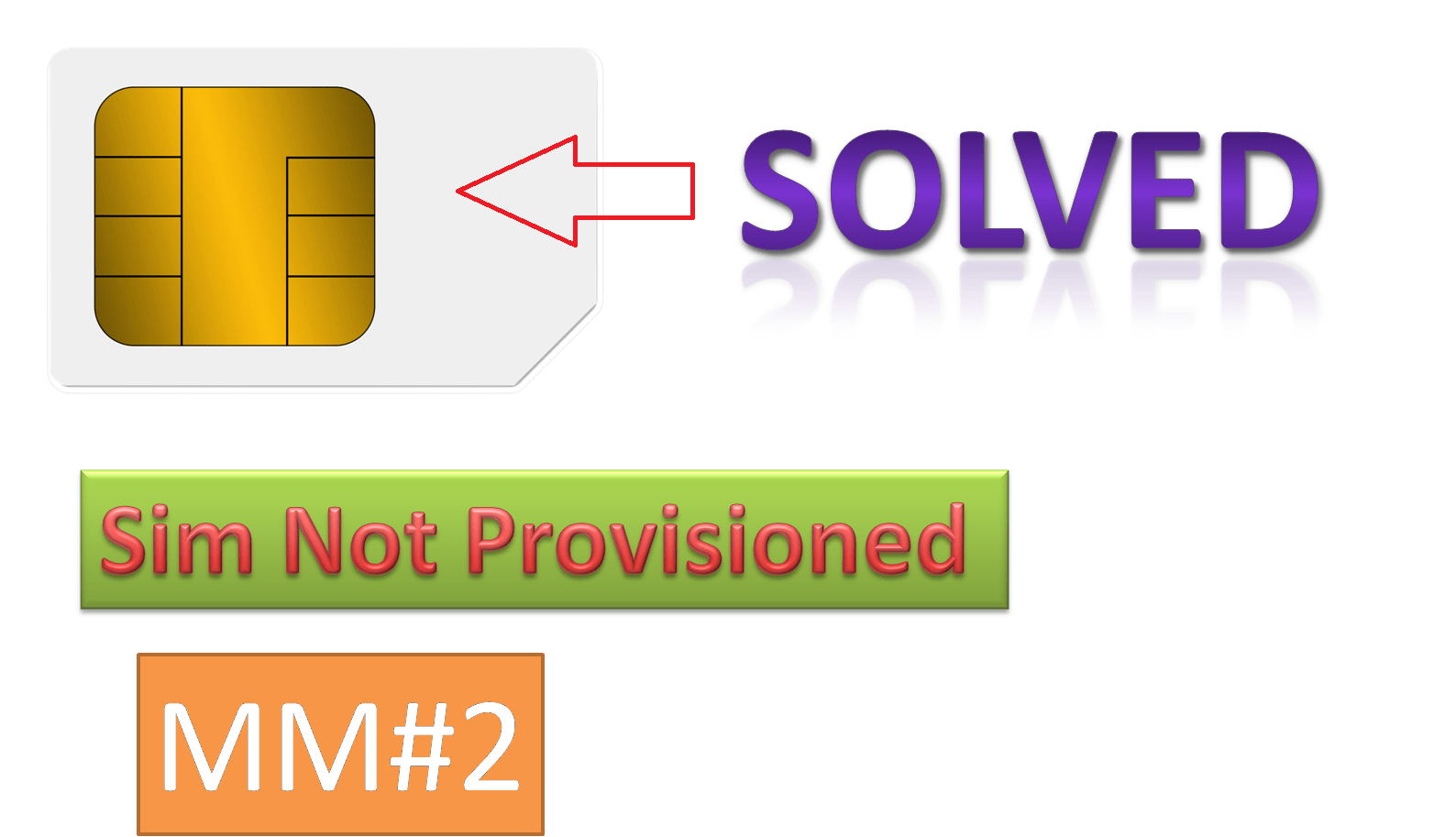 Sim not provisioned error