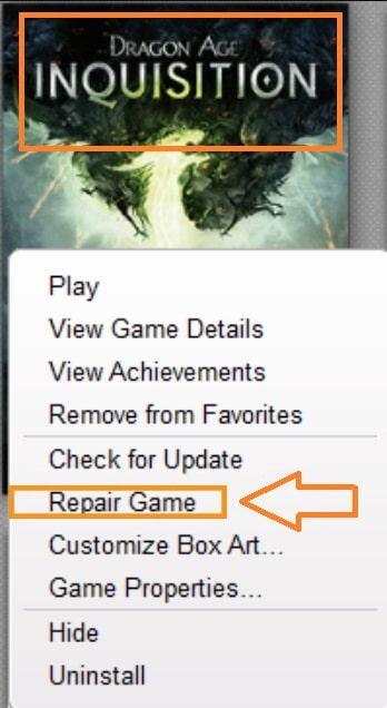 Checking game files